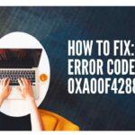 How to fix Error Code 0xA00F4288 (1)