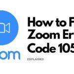 zoom error code 1054 fix