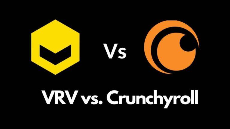 Vrv vs Crunchyroll Comparison 2021