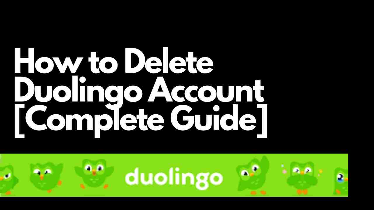 How to Delete Duolingo Account