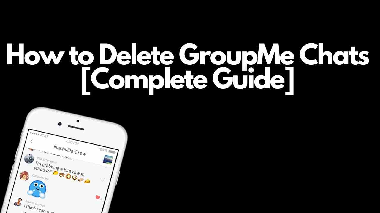 How to Delete GroupMe Chats