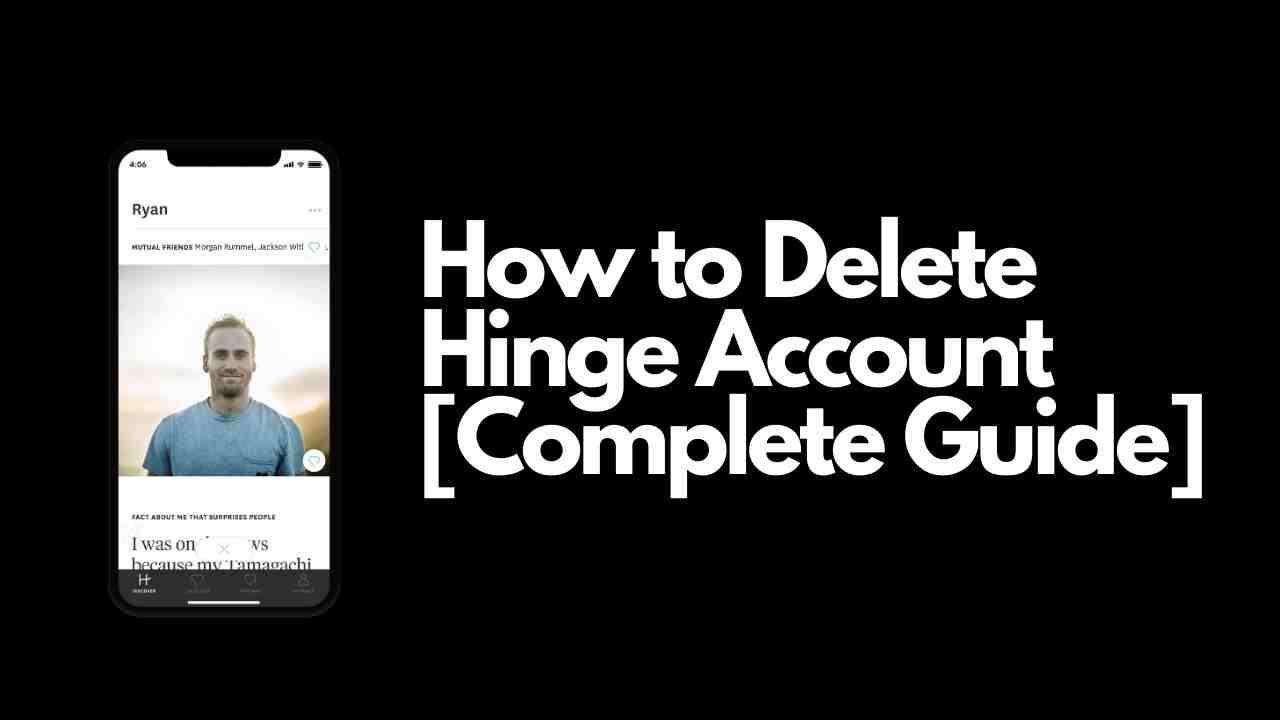 How to Delete Hinge Account
