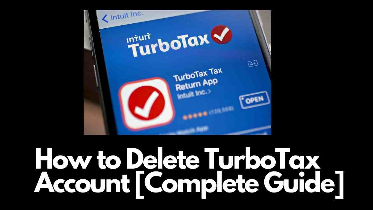 How to Delete TurboTax Account