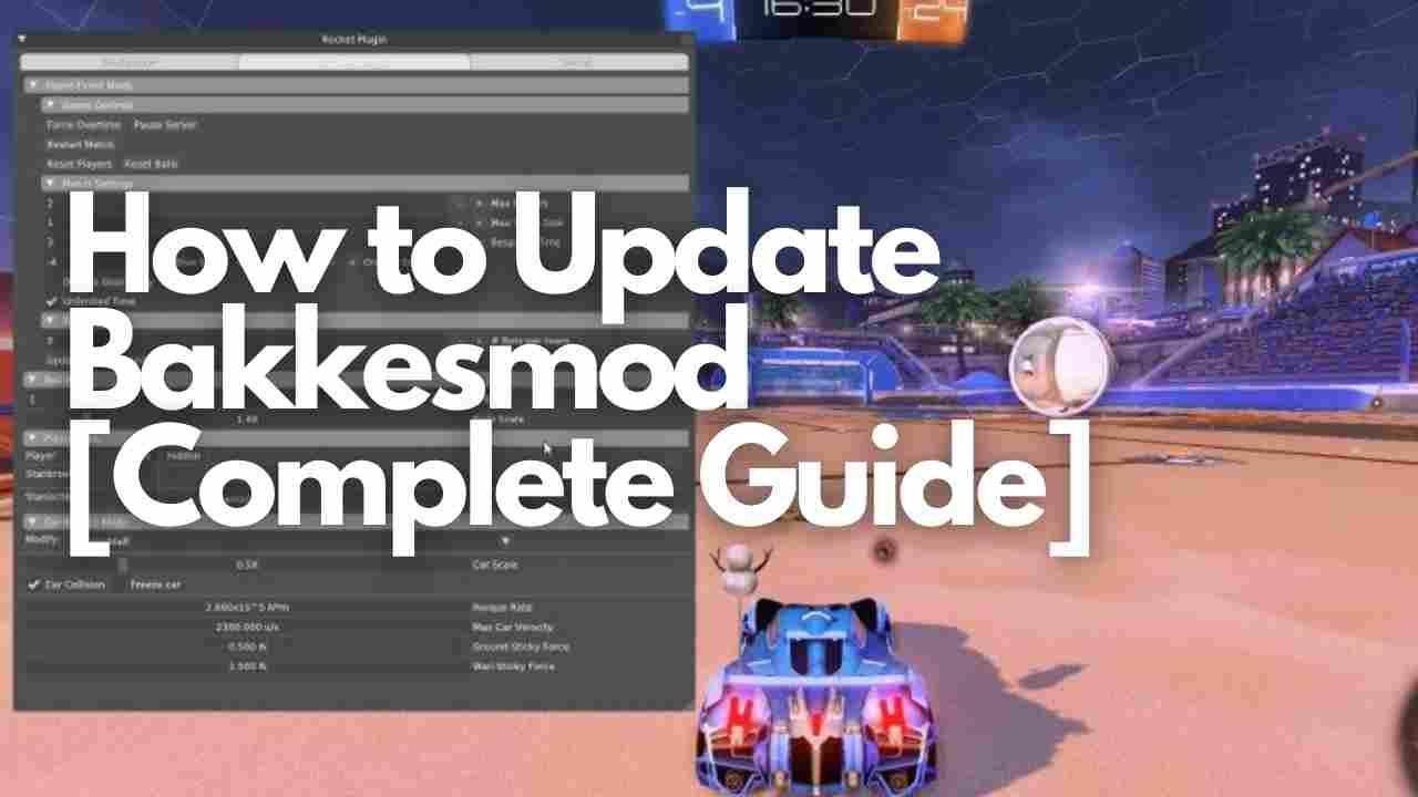 How to Update Bakkesmod (1)
