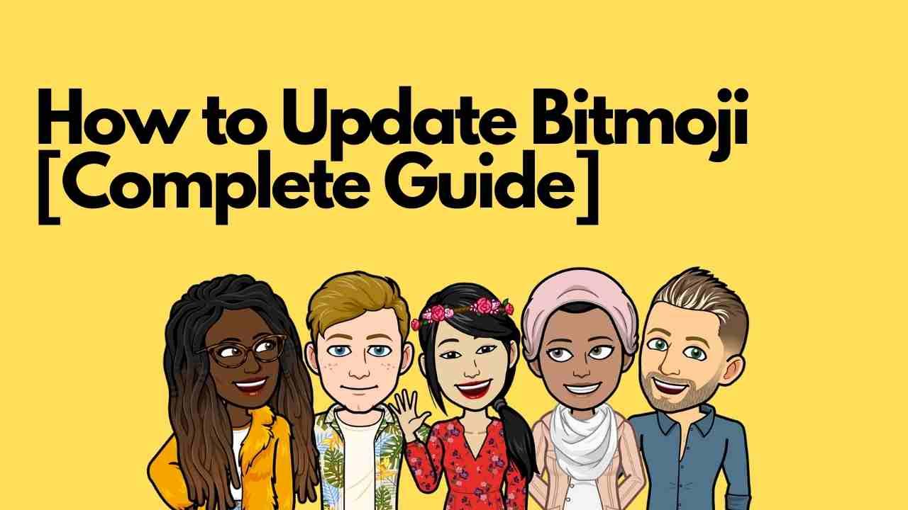 How to Update Bitmoji app