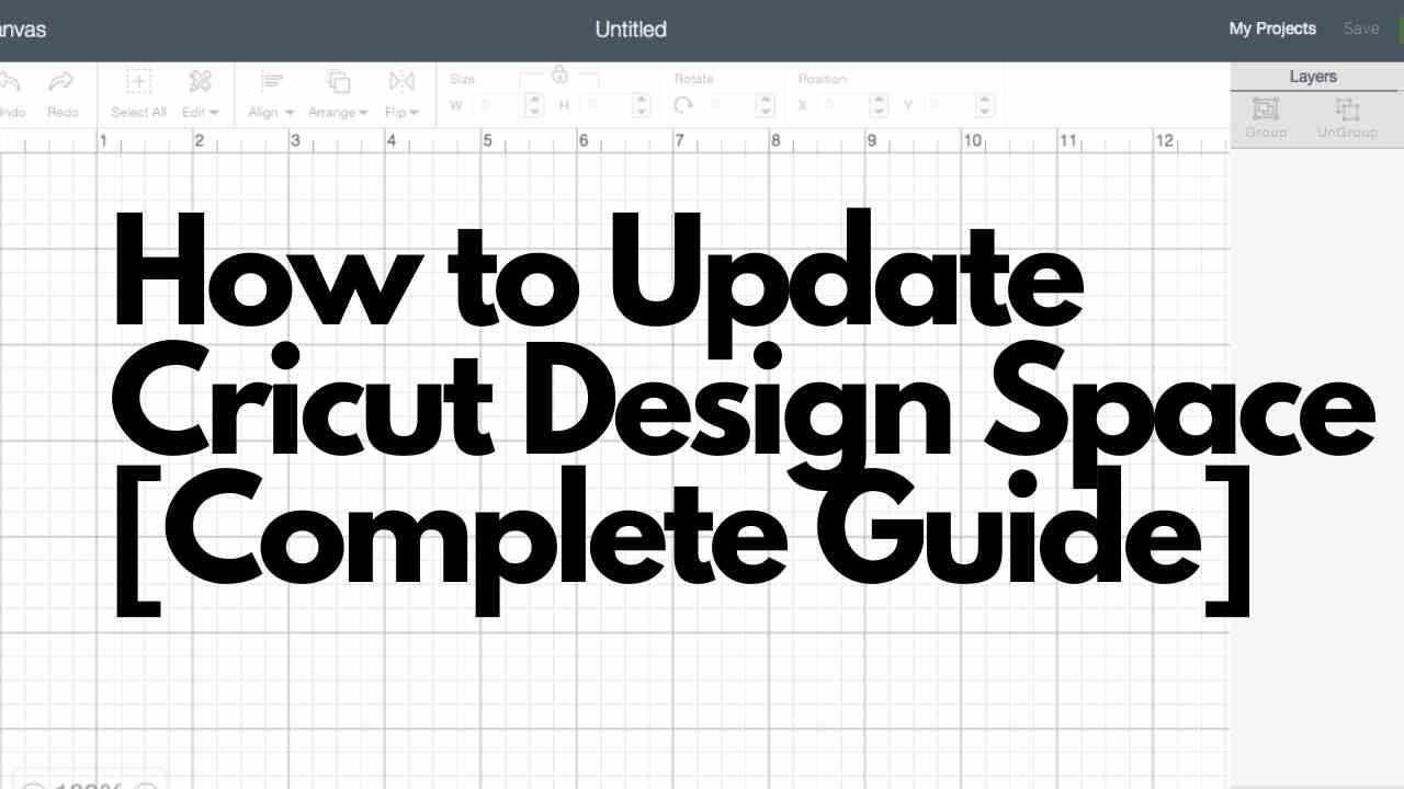 How to Update Cricut Design Space