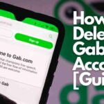 How to Delete Gab Account