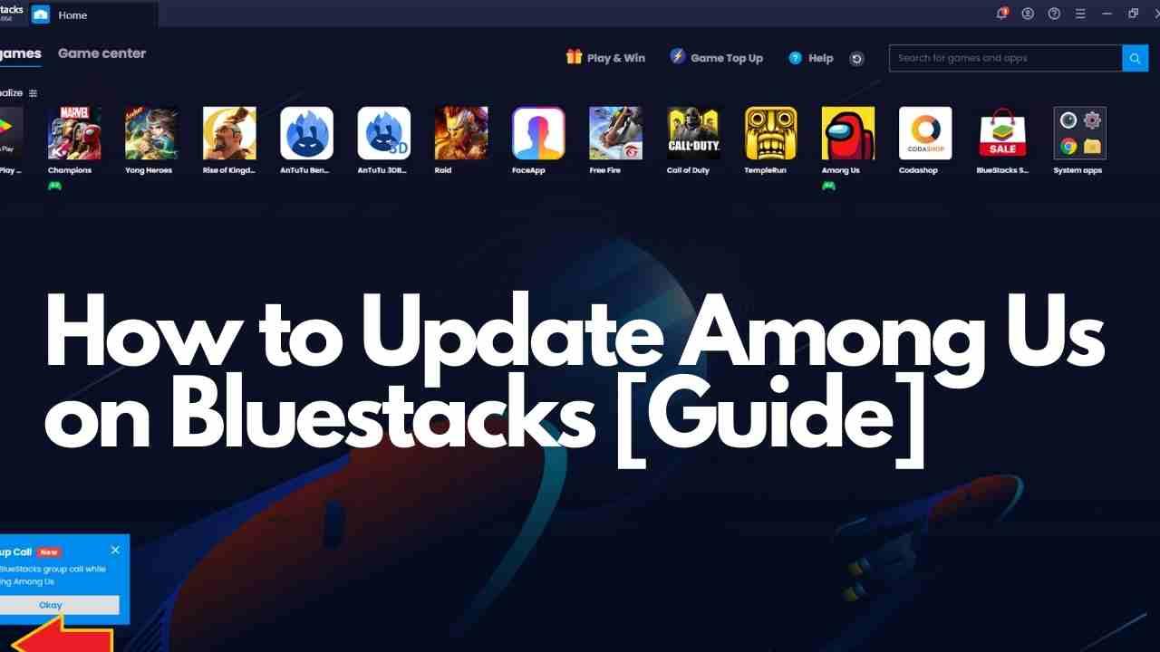 How to Update Among Us on Bluestacks