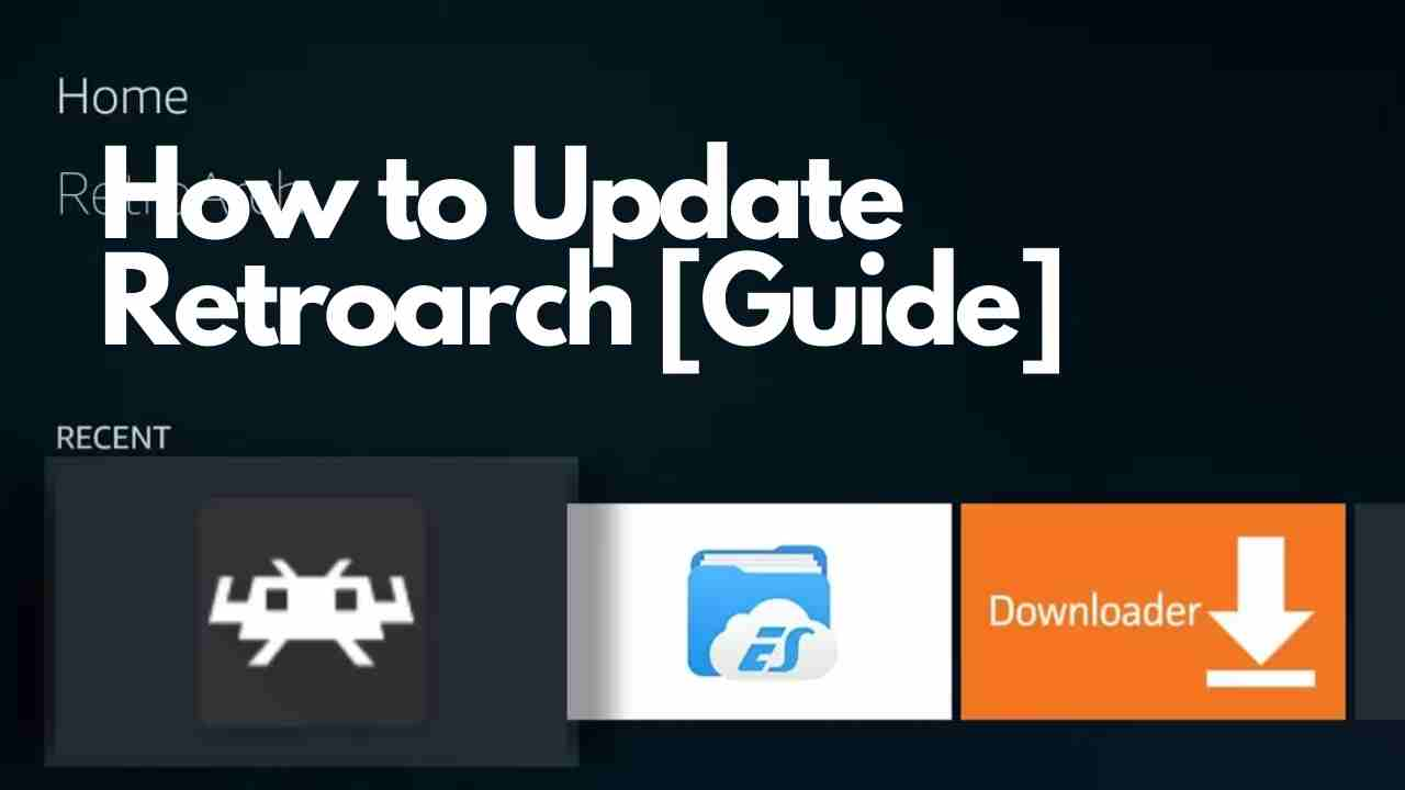 How to Update Retroarch