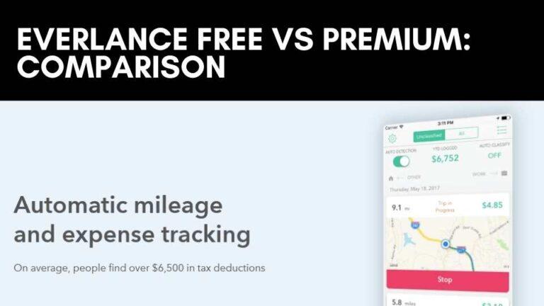 Everlance Free vs Premium: Comparison 2021