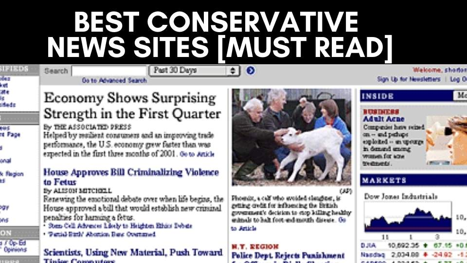 Best Conservative News Sites [Must Read] (1)
