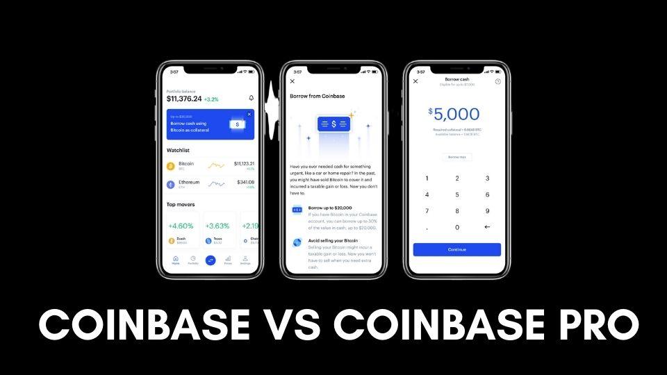 Coinbase vs coinbase pro