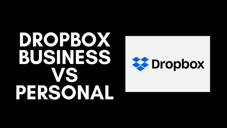 Dropbox Business vs Personal: Comparison 2021