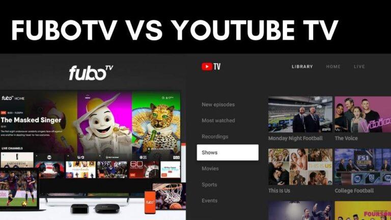 FuboTV vs YouTube TV: Comparison 2021