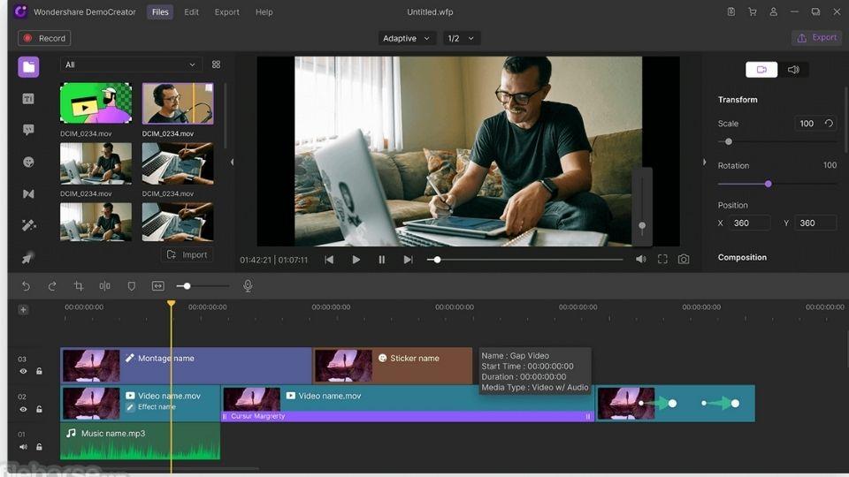 Wondershare DemoCreator Screen Recorder for Roblox