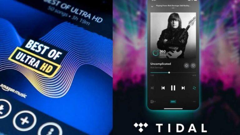 Amazon Music HD vs Tidal: Comparison 2021