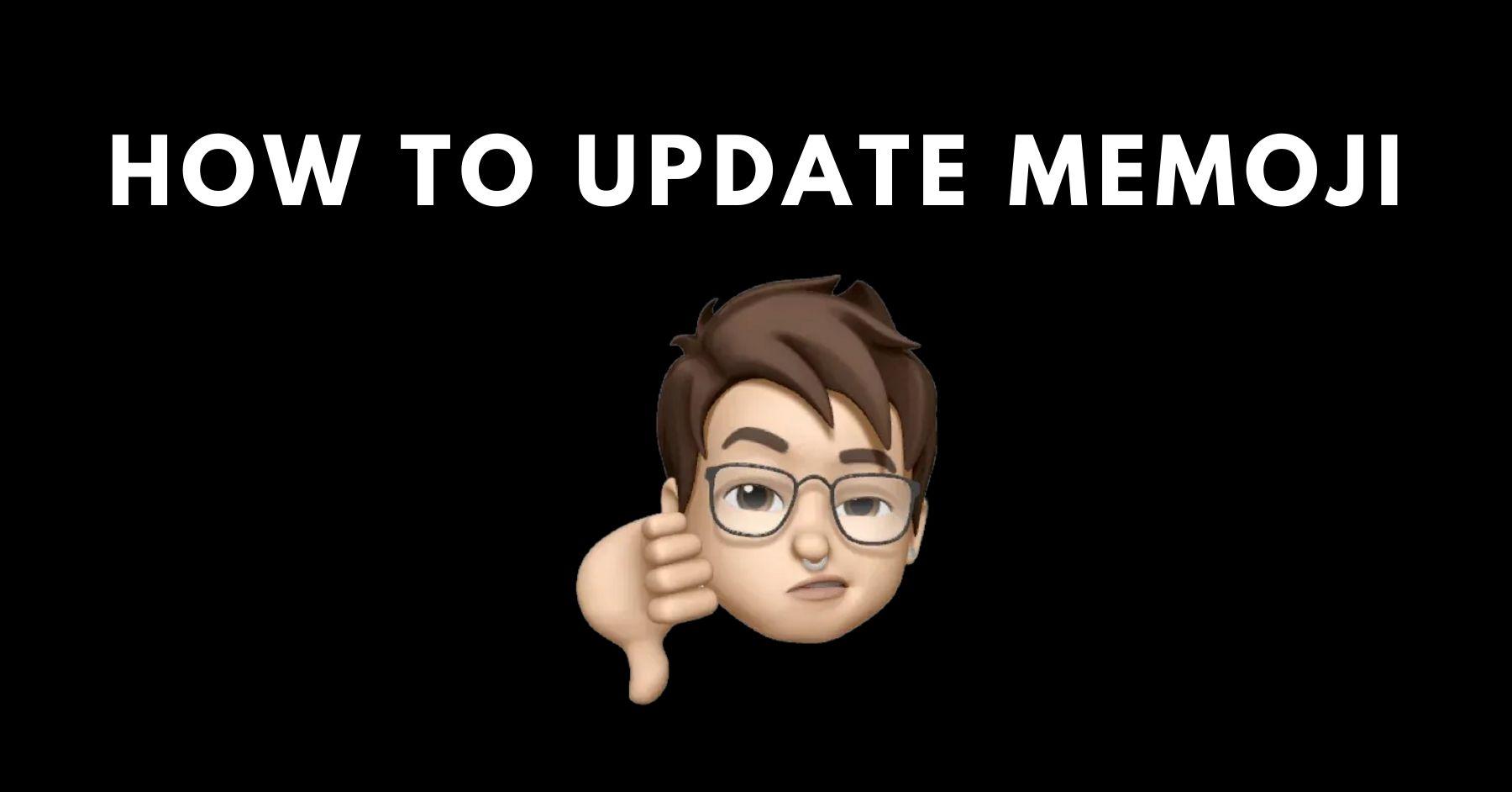 How to Update Memoji
