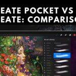 Procreate Pocket vs Procreate