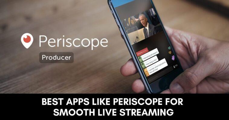 Apps like Periscope alternatives