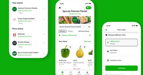 apps like gopuff alternatives