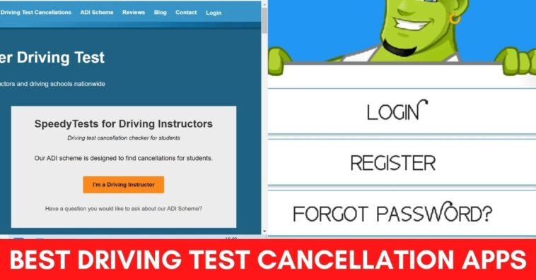 Best Driving test Cancellation Apps
