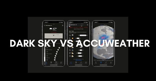 Dark Sky vs AccuWeather