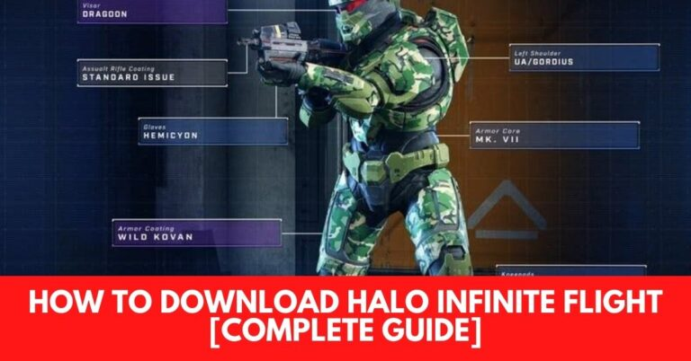 How to Download Halo Infinite Flight [Complete Guide]
