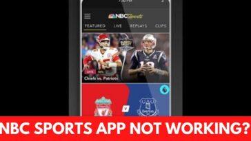 NBC Sports App Not Working fix