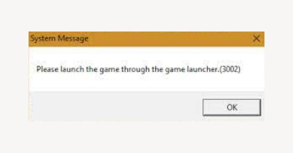 Pandora Error Code 3002