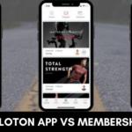 Peloton App vs Membership