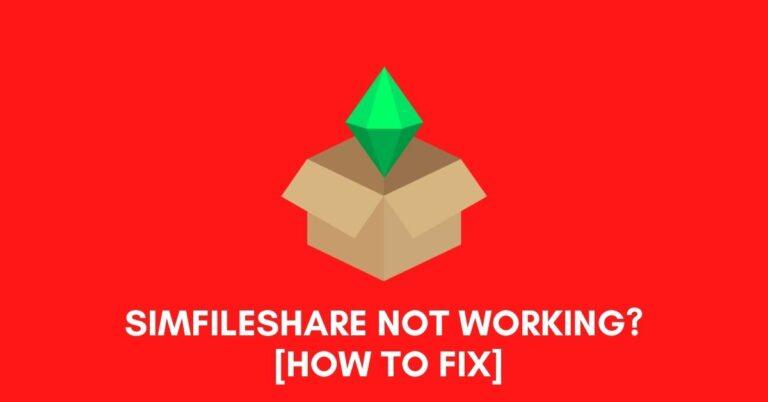 Simfileshare Not Working [Fix 2021]