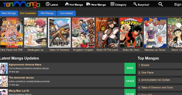 Sites Like Mangago alternatives