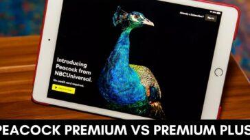 peacock premium vs premium plus
