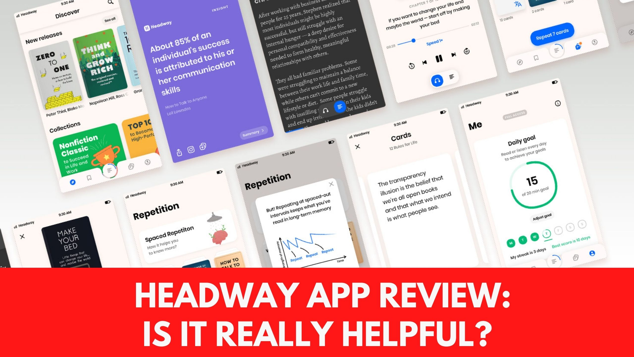 Headway App Review