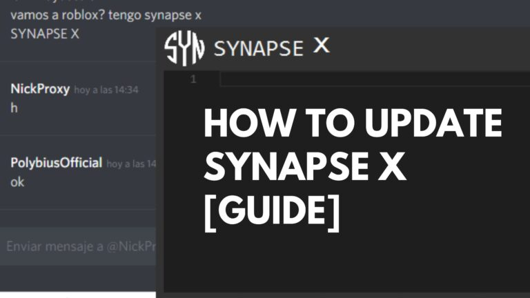 How to Update Synapse X [Guide 2021]
