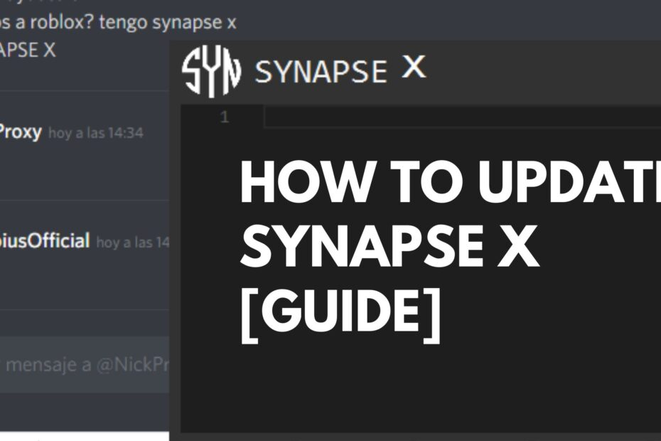 How to update Synapse X