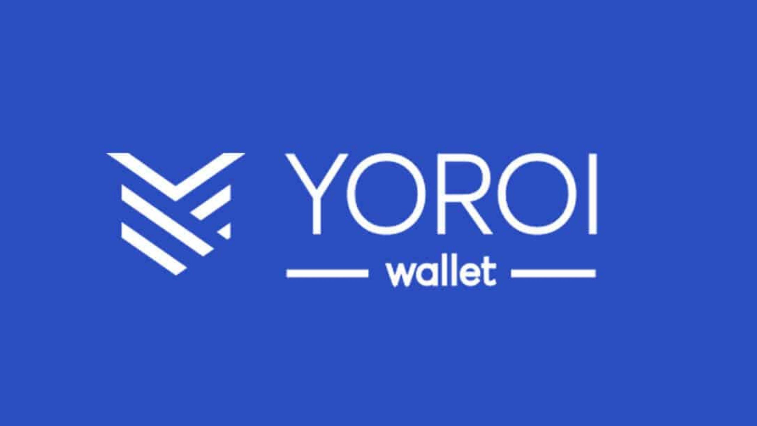 Yoroi Wallet Not Working fix