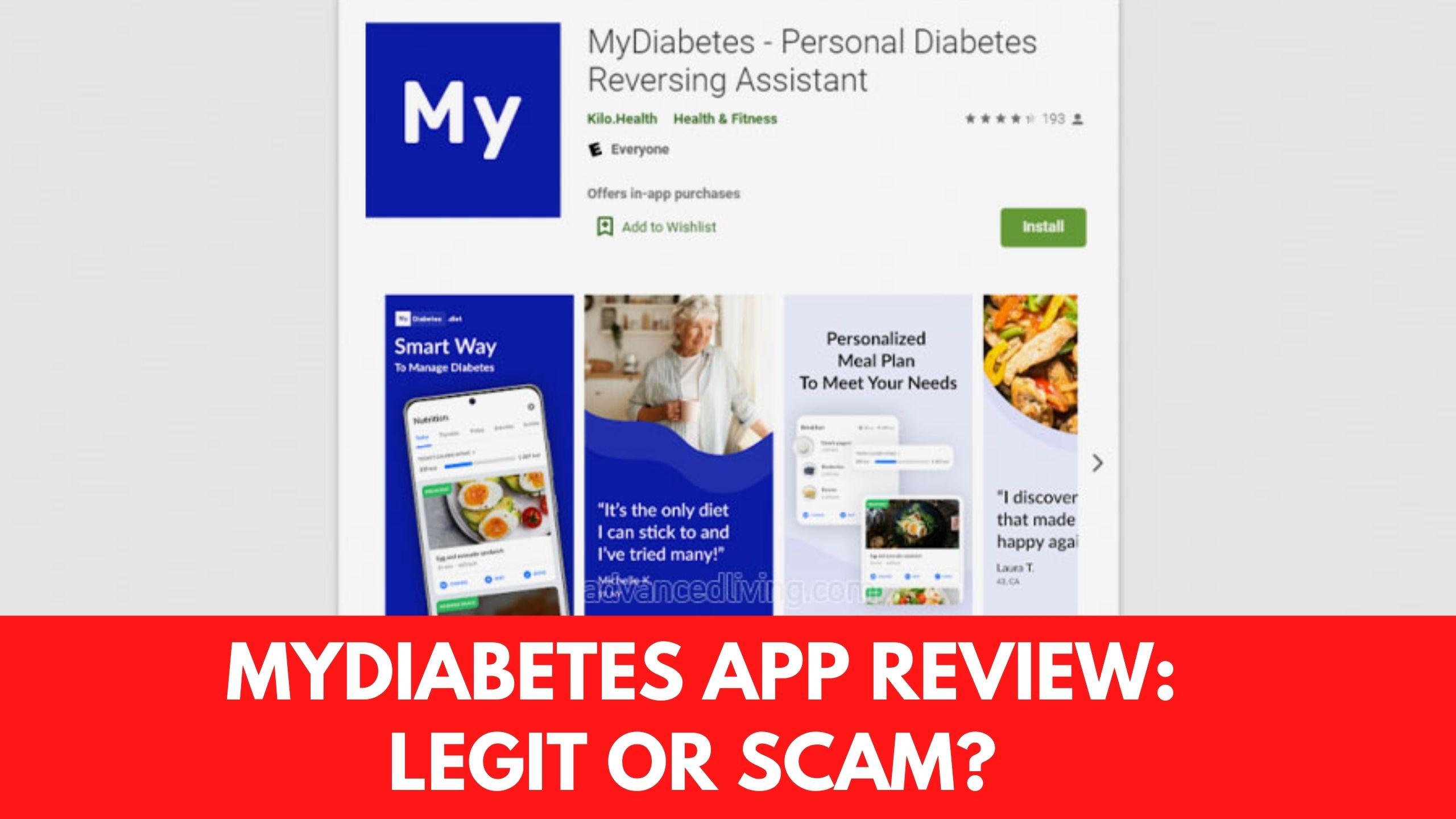 myDiabetes App Review
