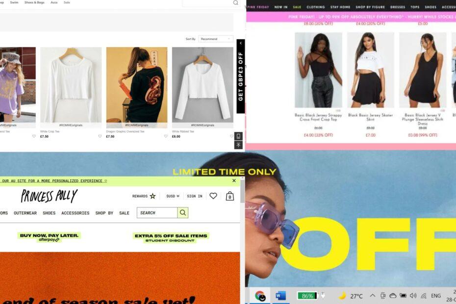sites like fashion nova alternatives